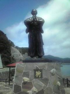 龍馬 祈りの銅像